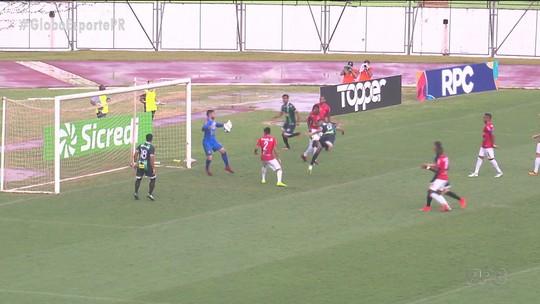 Maringá e Rio Branco empatam em 1 a 1