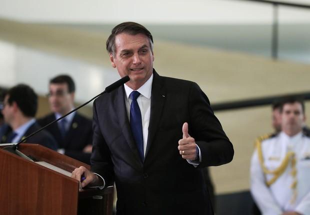 O presidente Jair Bolsonaro (Foto: Marcos Corrêa/Agência Brasil)