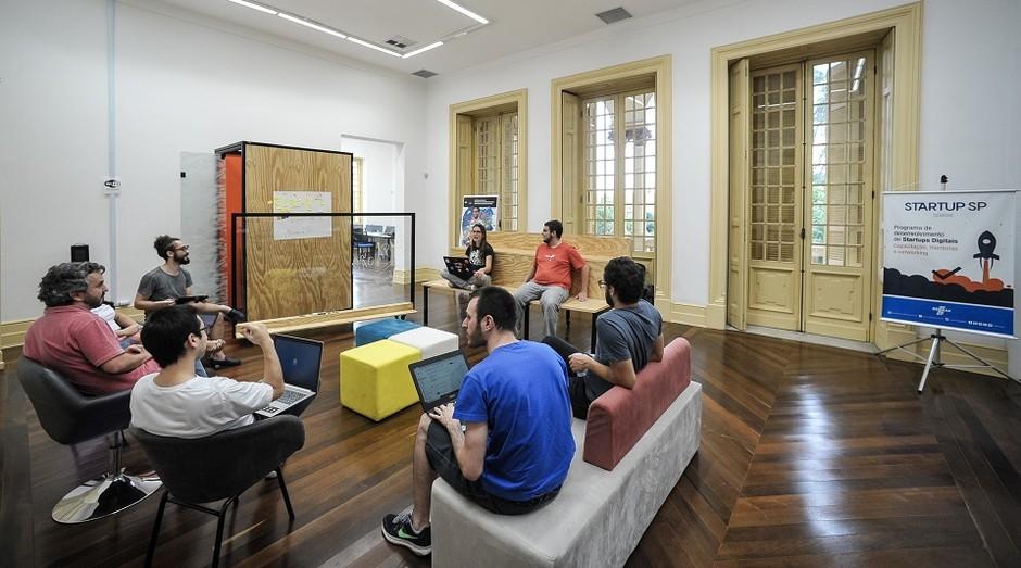 Espaço de Coworking do Sebrae-SP (Foto: Sebrae-SP)
