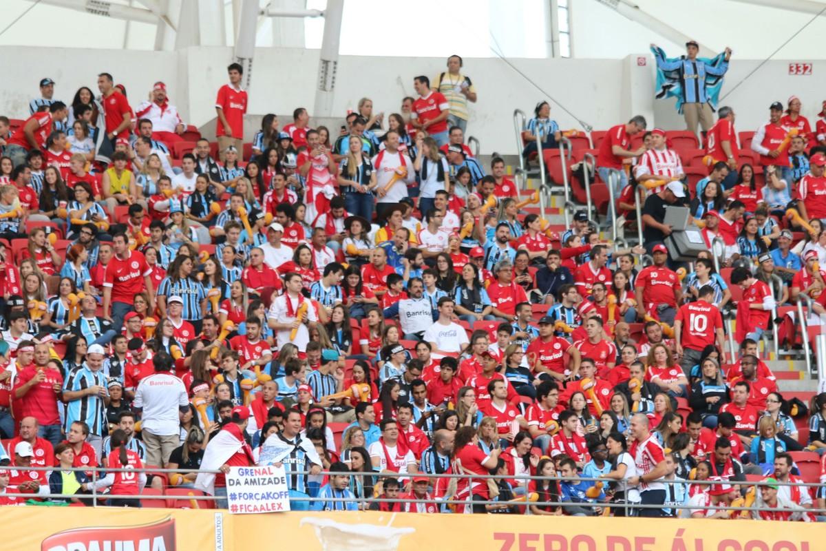 c42b7edfb9 Gre-Nal 417 tem ingressos esgotados e expectativa de 45 mil no Beira-Rio