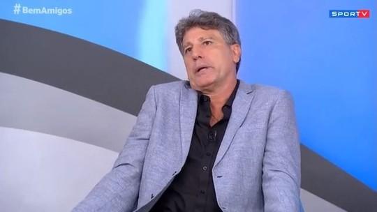 """Para Renato Gaúcho quem não sonha com Seleção """"ou não almeja algo maior ou não se garante"""""""