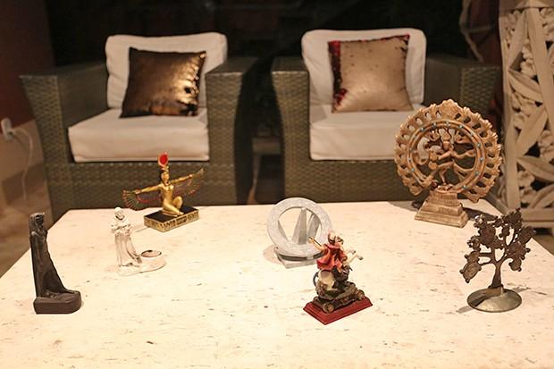 Detalhes da decoração (Foto: Reginaldo Teixeira / Ed. Globo)