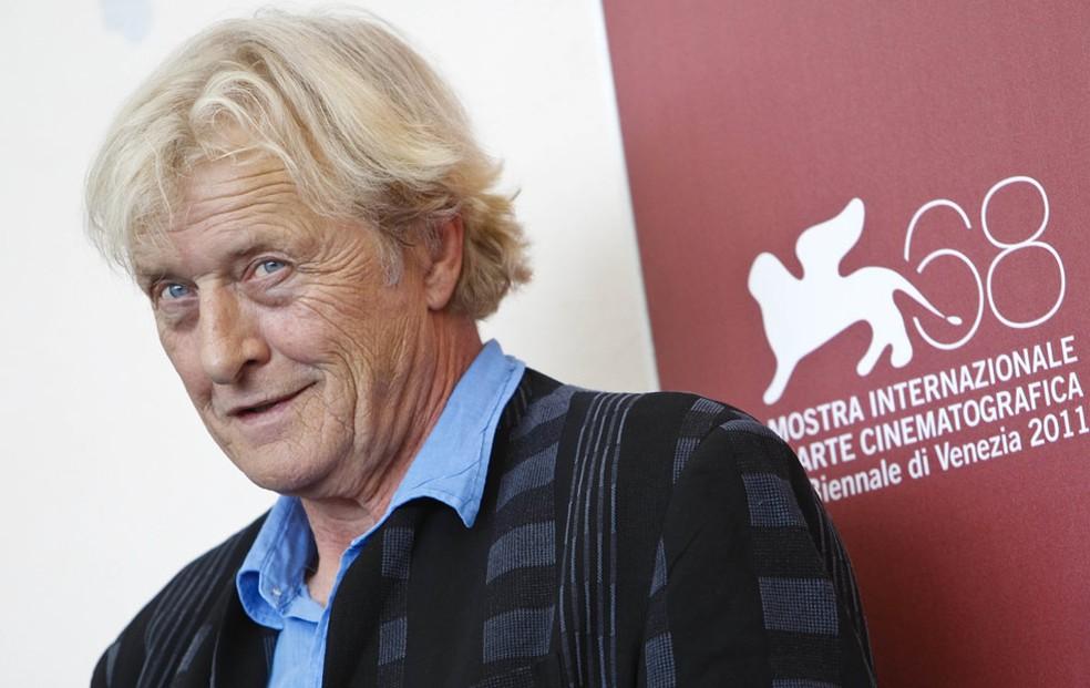 O ator Rutger Hauer — Foto: AP