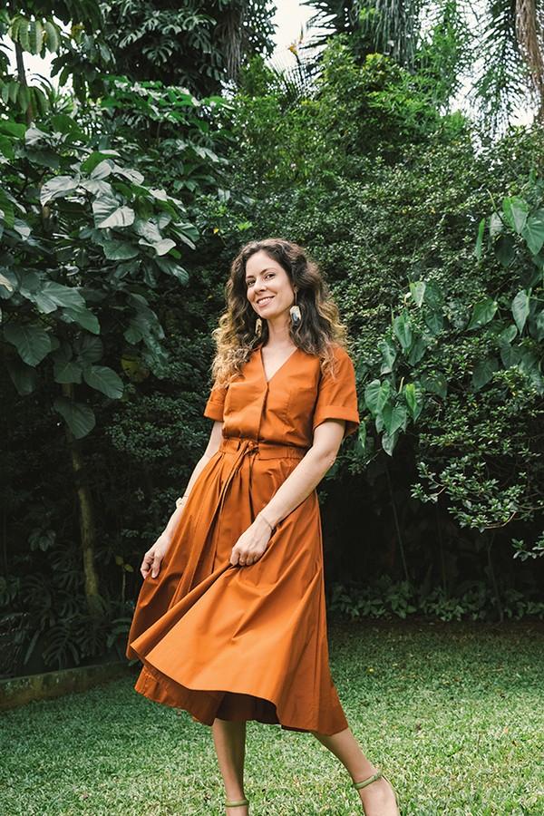 Fernanda Cortez  (Foto: Bruna Hissae e Tatiana Toledo )