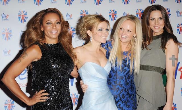 Mel B, Geri Halliwell, Emma Bunton e Mel C: as Spice Girls são esperadas em peso para o casamento real, inclusive você, Victoria Beckham (Foto: Getty Images)