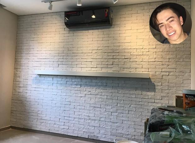 Whindersson Nunes mostra reforma de seu escritório nas redes sociais (Foto: Instagram/ Reprodução)