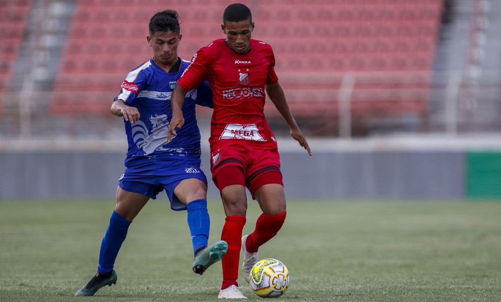 Ituano não encontrou dificuldades para vencer o Sinop na estreia da Copinha — Foto: Miguel Schincariol/Ituano FC