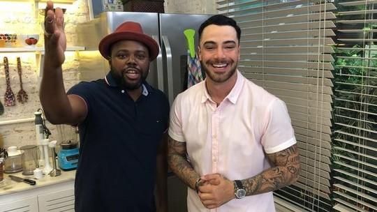 Felipe Titto e Érico Brás sugerem acompanhamento e sobremesa para o prato Soterocarioca