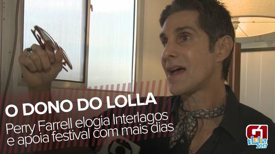 Perry Farrell, criador do Lollapalooza, diz que é possível ter festival com mais dias em 2018