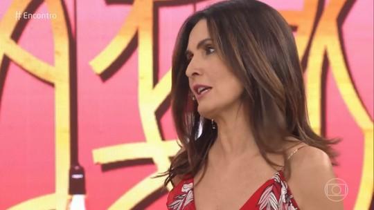 Fátima Bernardes confessa que já ficou arrasada com presente de amigo secreto: 'Me deixou brava'
