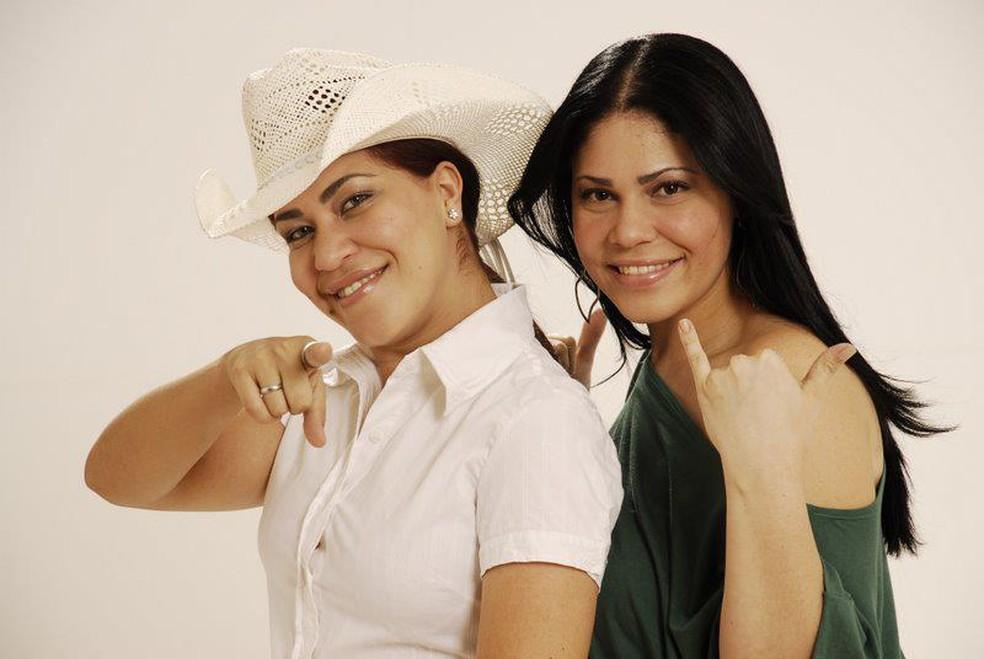 Sarah e Livia vão animar o público — Foto: Divulgação