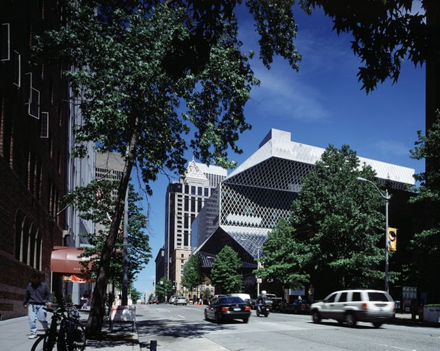 Biblioteca Central de Seattle/ OMA + LMN/ 2004