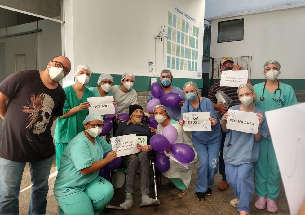 Alta do Raimundo foi uma festa, contou a neta Tatiana Cristina ao G1 — Foto: Divulgação/Arquivo pessoal