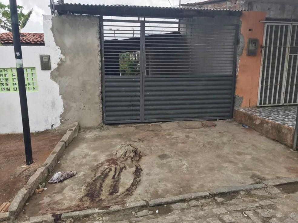 Local da festa onde o PM foi assassinado  (Foto: Kleber Teixeira/Inter TV Cabugi)