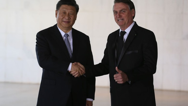 bolsonaro-jinping (Foto: Agência Brasil)