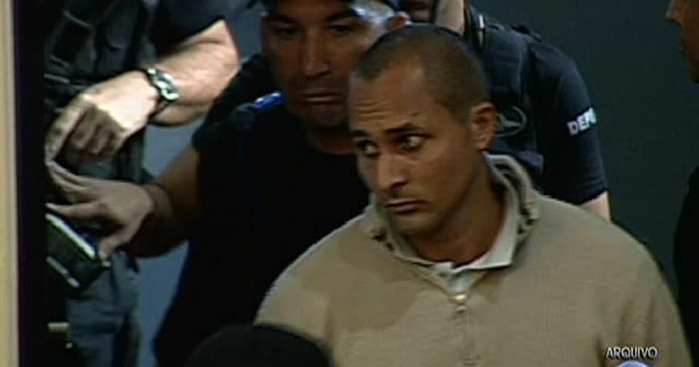 O traficante Marcinho VP (Foto: TV Globo/Reprodução)