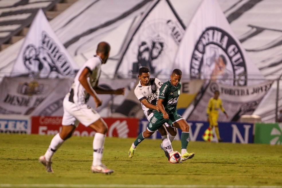 Clássico entre Guarani e Ponte vai chegar ao duelo 200 na Série B  — Foto: Thomaz Marostegan/Guarani FC