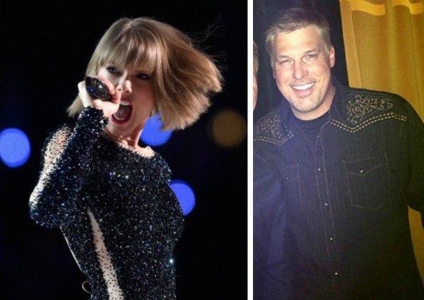 Taylor Swift e o DJ David Mueller (Foto: Getty Images/Twitter)