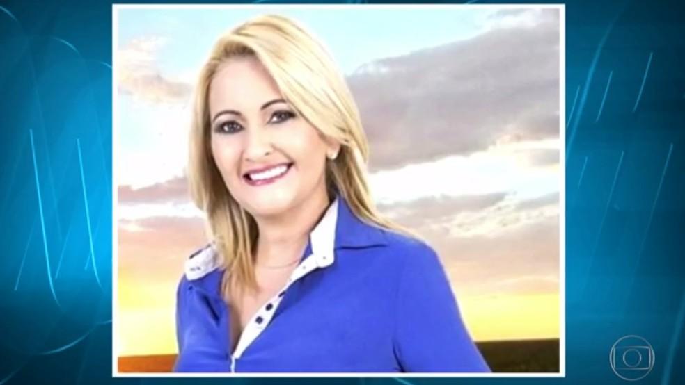 Roseli Pimentel, prefeita de Santa Luzia (Foto: Reprodução/TV Globo)