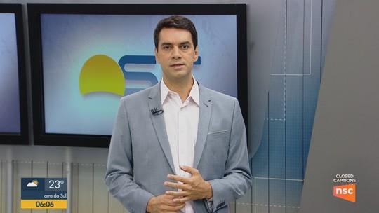 Motorista de caminhão morre em acidente no trecho em obras da Via Expressa em Florianópolis
