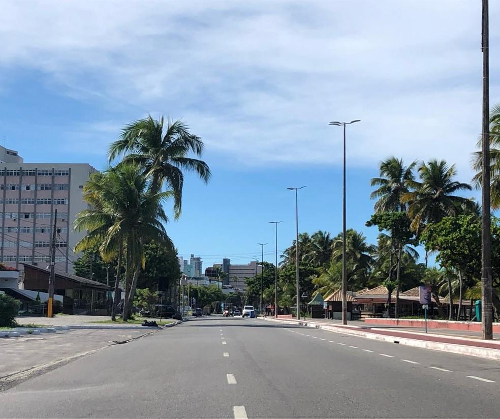Praias são fechadas no fim de semana em João Pessoa e Cabedelo e tem  restrições no Conde | Paraíba | G1