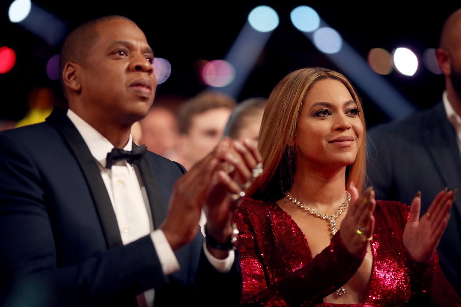Jay Z e Beyoncé, que vão concorrer por famosos com Madonna (Foto: Getty)
