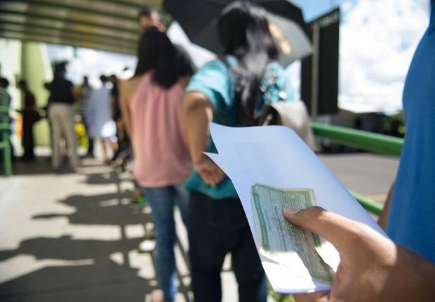 Em todo o país estão aptos para votar 146,8 milhões de eleitores (Foto: Marcelo Camargo/Arquivo Agência Brasil)