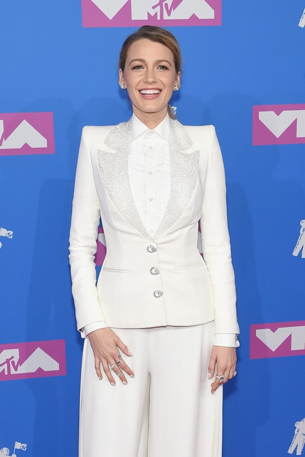 NEW YORK, NY - AUGUST 20:  Blake Lively attends the 2018 MTV Video Music Awards at Radio City Music Hall on August 20, 2018 in New York City.  (Photo by Jamie McCarthy/Getty Images) (Foto: Getty Images)