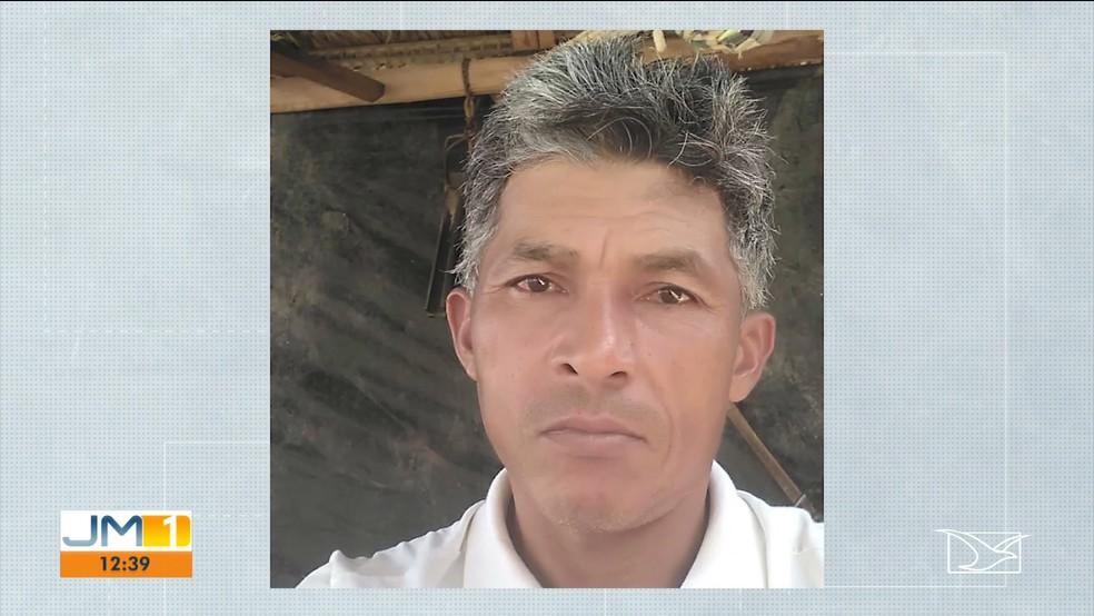 Eliezer Matos de Oliveira, de 42 anos, foi preso após matar a ex-cunhada na zona rural de Balsas (MA) — Foto: Reprodução/TV Mirante