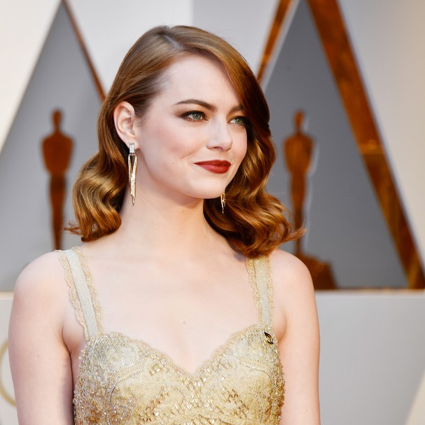 HOLLYWOOD, CA - FEBRUARY 26:  Actor Emma Stone attends the 89th Annual Academy Awards at Hollywood & Highland Center on February 26, 2017 in Hollywood, California.  (Photo by Frazer Harrison/Getty Images) *** Local Caption *** Emma Stone (Foto: Getty Images)
