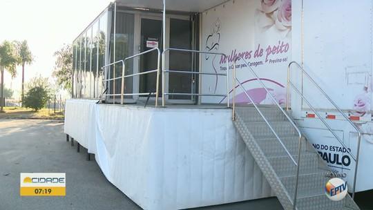 'Carreta da Mamografia' oferece exames preventivos gratuitos em Vinhedo