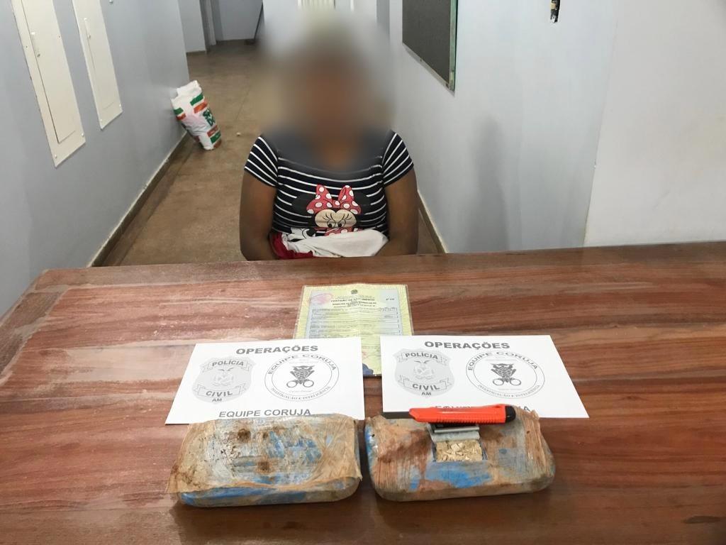 Mulher é presa em rodoviária no AM por transportar drogas dentro de mochila, diz polícia - Noticias