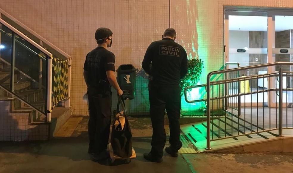 Operação da Polícia Civil e do Ministério Público do DF faz buscas no âmbito da Operação Backdoor; em julho  — Foto: PCDF/Divulgação