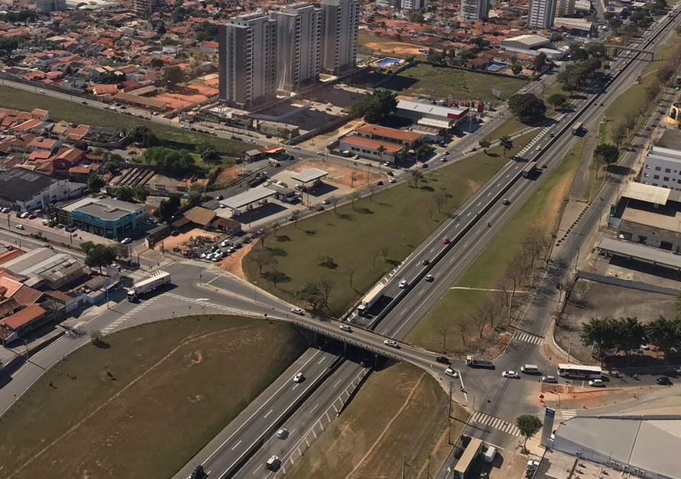 Taubaté vai lançar licitação para obra de duplicação do viaduto da Independência (Foto: Pedro Melo/ TV Vanguarda)