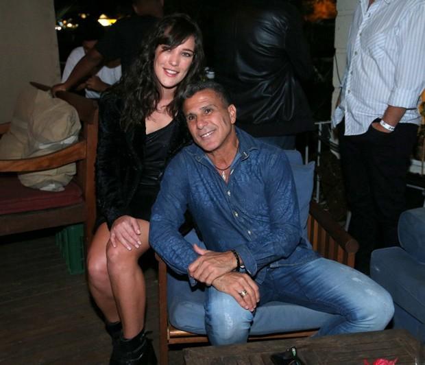 Adriana Birolli e Eri Johnson (Foto: Andre Freitas/AgNews.)