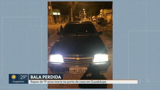 Jovem morre atingido por bala perdida em Guadalupe