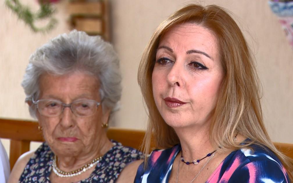 Diagnóstico precoce foi fundamental para tratamento da mãe de Roseli Durande — Foto: Reprodução/EPTV