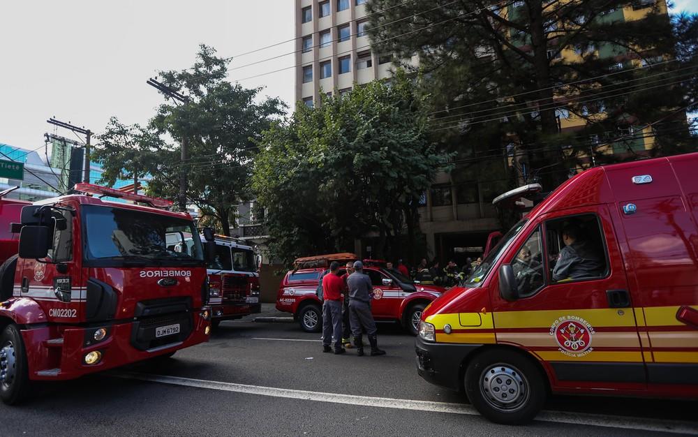 Incêndio em apartamento na Zona Oeste de SP deixa três vítimas  (Foto: TIAGO QUEIROZ/ESTADÃO CONTEÚDO)