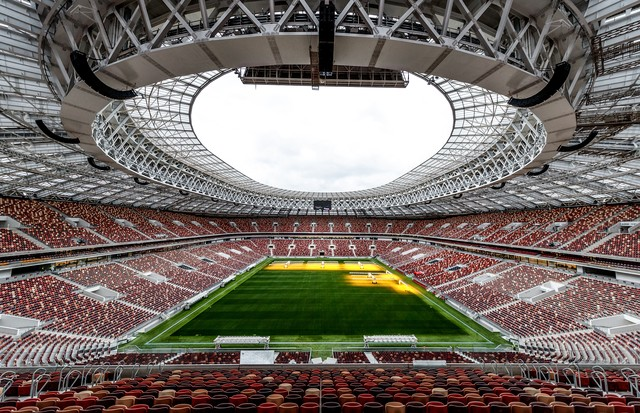 MOSCOW, RUSSIA - AUGUST 29:  A general view of the Luzhniki stadium on August 29, 2017 in Moscow, Russia.  (Photo by Lars Baron/Getty Images) (Foto: Getty Images)