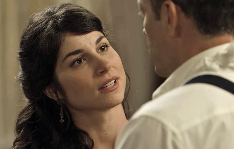 Mariana se declara e eles se beijam! ? (Foto: TV Globo)