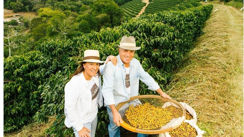cafe-maria-selma-afranio-fazenda-recanto (Foto: Divulgação )