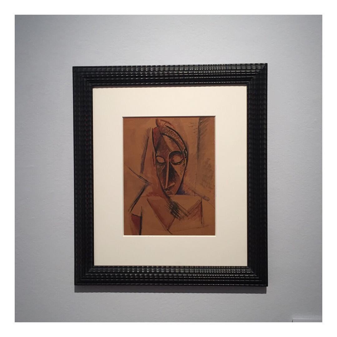 Nu à la draperie, de Pablo Picasso, a espera do leilão (Foto: Reprodução/Instagram)