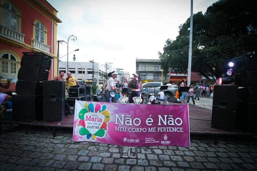 """Evento reforçou o tema """"Não é Não: Meu corpo me pertence"""". — Foto: Divulgação"""