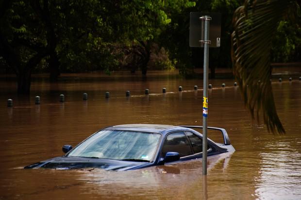 Enchente; água; chuva; tempestade; temporal (Foto: Getty Images)