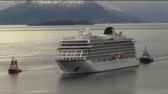 Noruega abre investigação sobre navio de cruzeiro que ficou à deriva