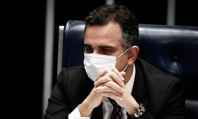 O presidente do Senado, Rodrigo Pacheco 03/03/2021