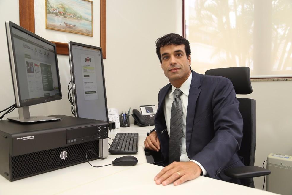 Novo secretário, Renato Lacerda (Foto: Divulgação/Fazenda)