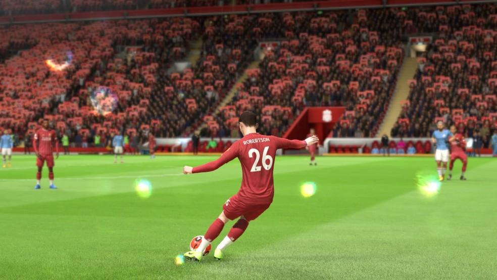 Andrew Robertson é o melhor lateral-esquerdo no FIFA 20 — Foto: Reprodução