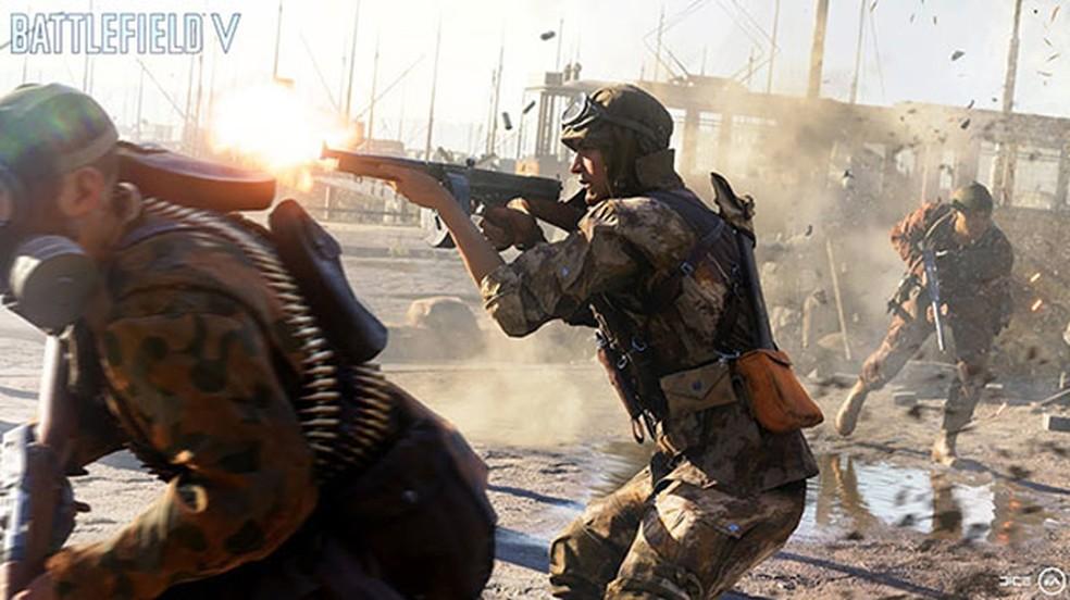 Battlefield 5 teve um novo trailer que mostra muita ação e alguns de seus mapas para a GamesCom 2018 — Foto: Reprodução/Gematsu