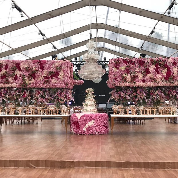 Mesa do casamento (Foto: Reprodução/Instagram)